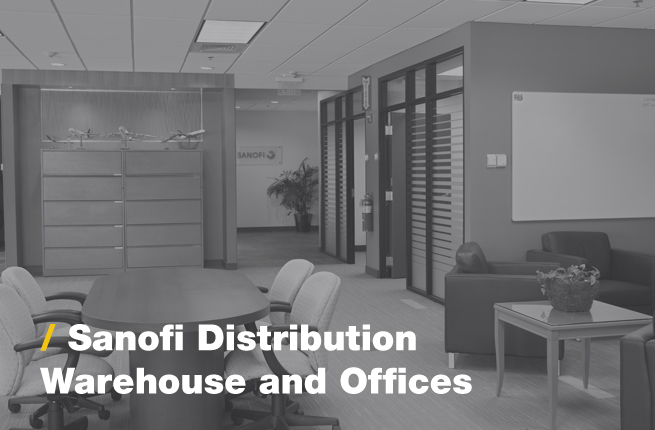 Sanofi Distrubtion Warehouse and Offices